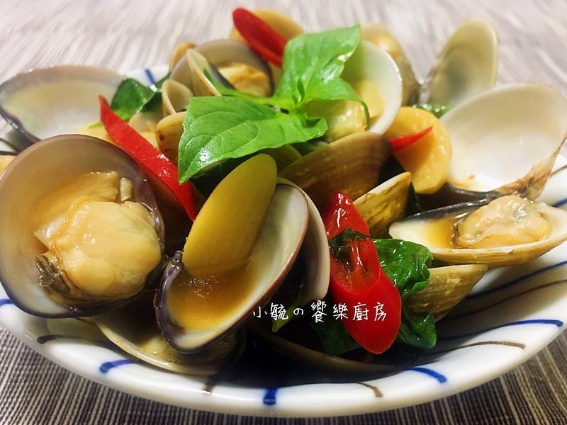 塔香蛤蜊 【5分鐘快速上菜】