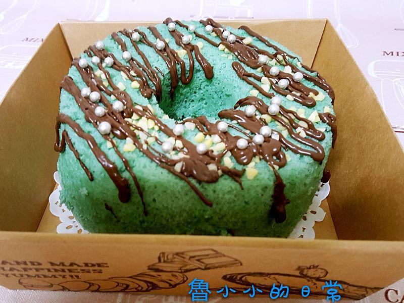 夢幻蝶豆花戚風蛋糕