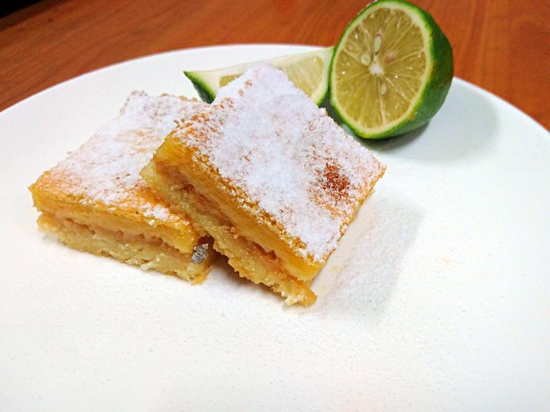 酸甜的蜂蜜檸檬方塊 Lemon Bar