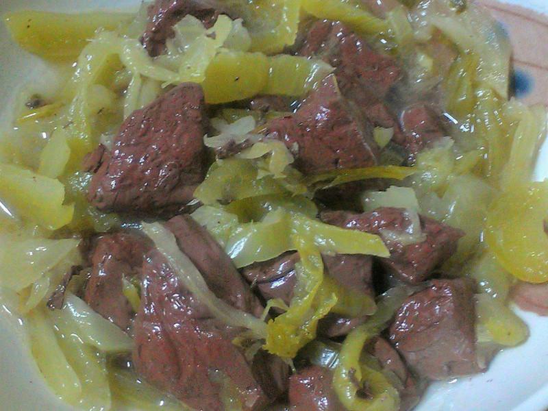 ㄚ曼達的廚房~酸菜鴨血