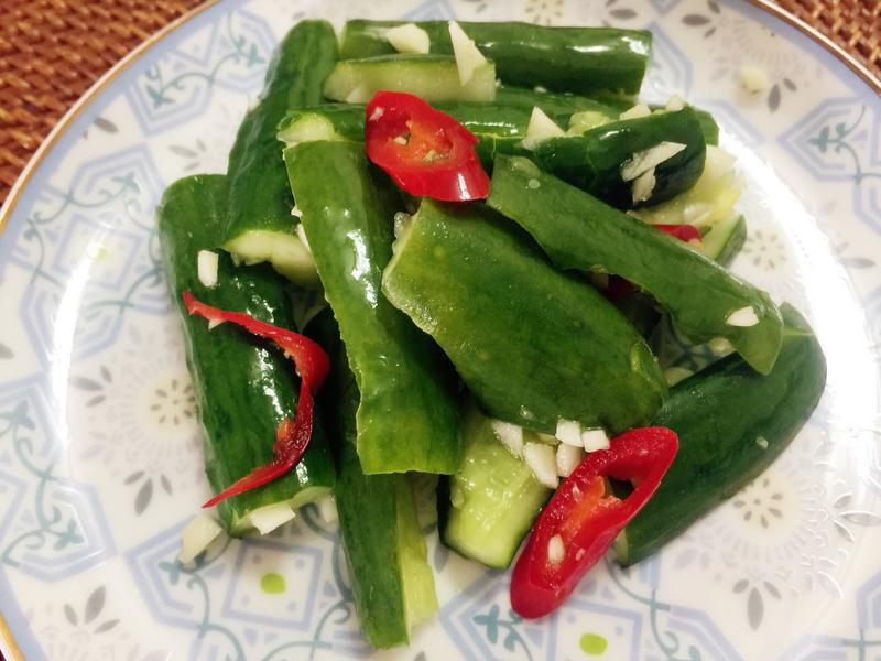 冰箱常備菜-完全沒技巧之涼拌小黃瓜