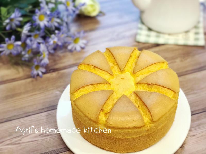 甜蜜橙香戚風蛋糕