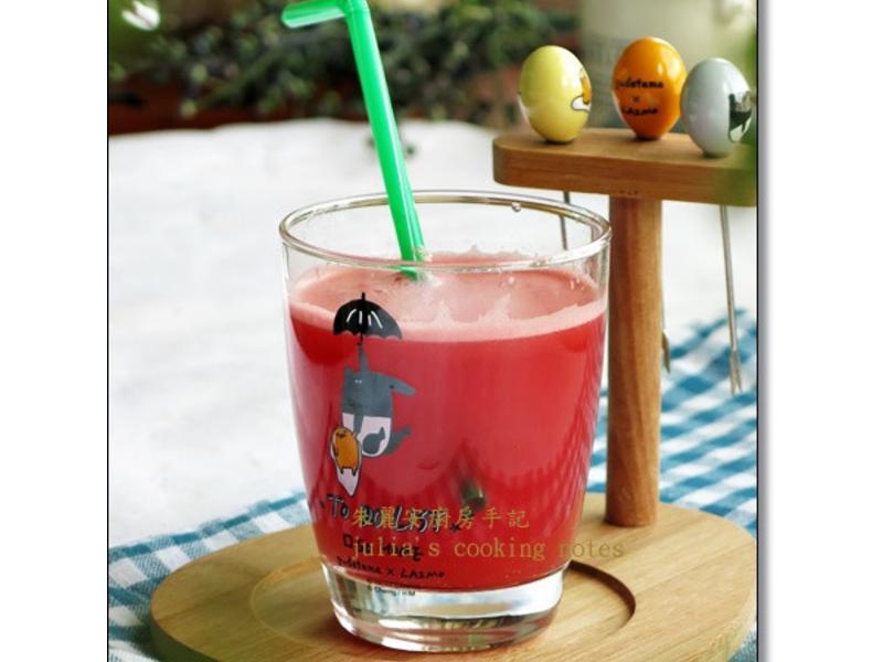 [西瓜氣泡水]有趣簡單的消暑飲料