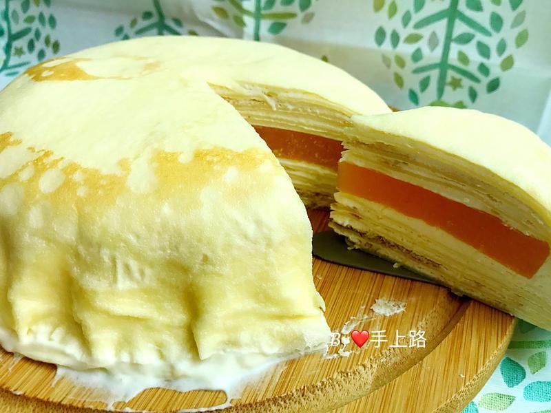 芒果凍千層蛋糕(二個6吋)