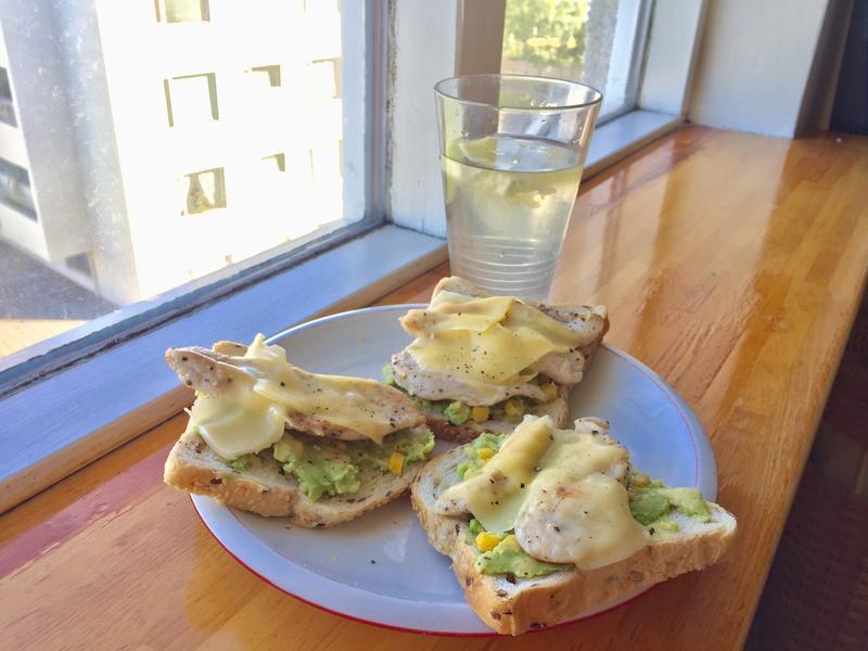 一個人吃也可以很簡單「酪梨brunch」