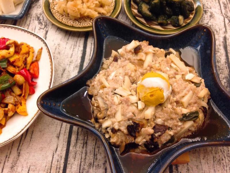 中式家常鹹蛋蒸肉餅