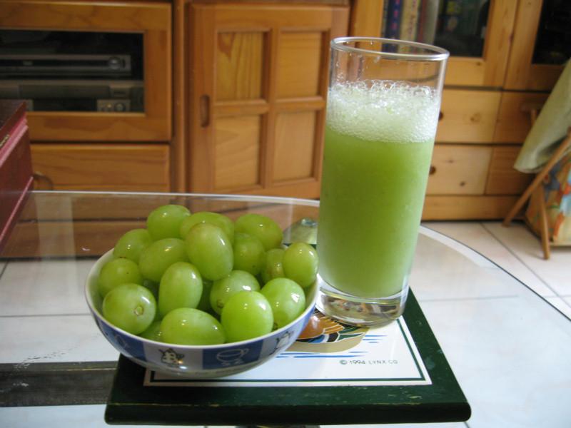 品靚上菜-綠葡萄果汁