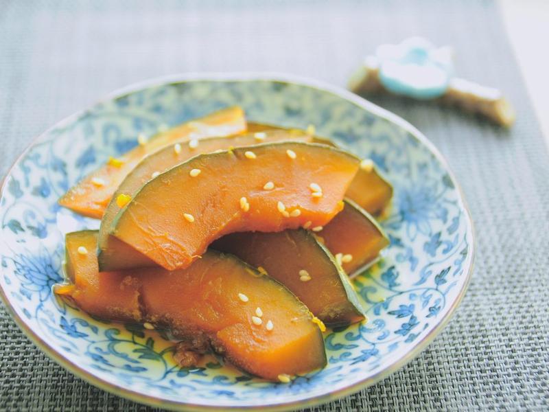 冰箱常備菜:南瓜煮物
