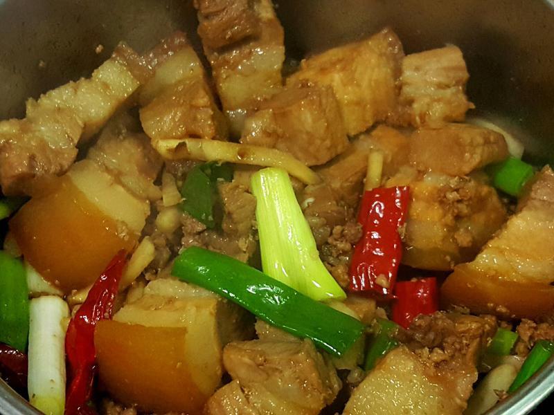 [家常菜]滷五花肉