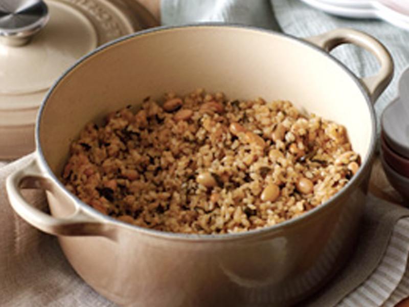 大豆糙米鍋