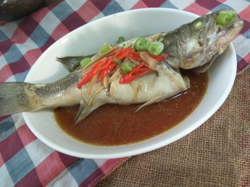 十分鐘上菜─清蒸鱸魚