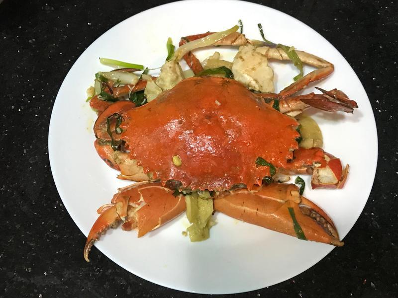 薑蔥焗肉蟹