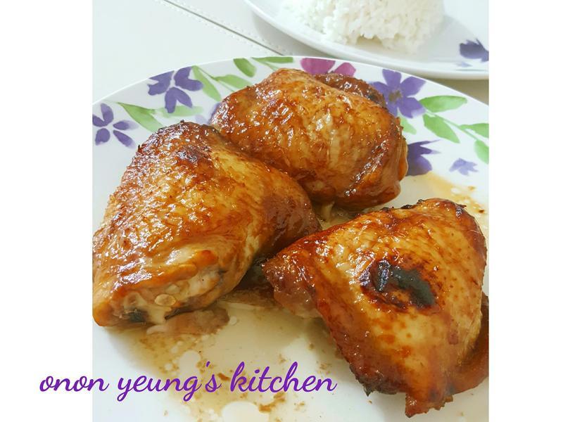 自製海鮮醬香蜜燒雞腿