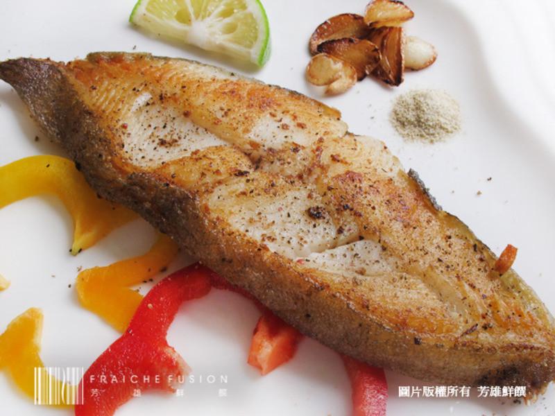 芳雄鮮饌-香煎阿拉斯加鱈魚切片