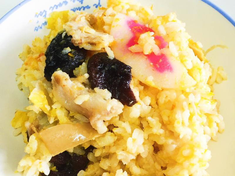 南瓜豬肉鮮菇炊飯
