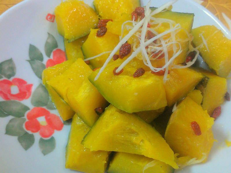 ㄚ曼達的廚房~枸杞金瓜