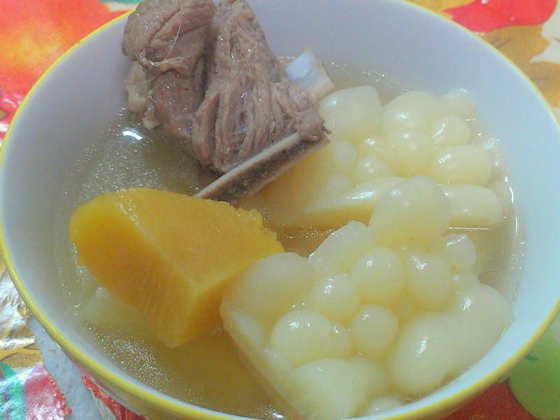 ㄚ曼達的廚房~鳳梨苦瓜排骨湯