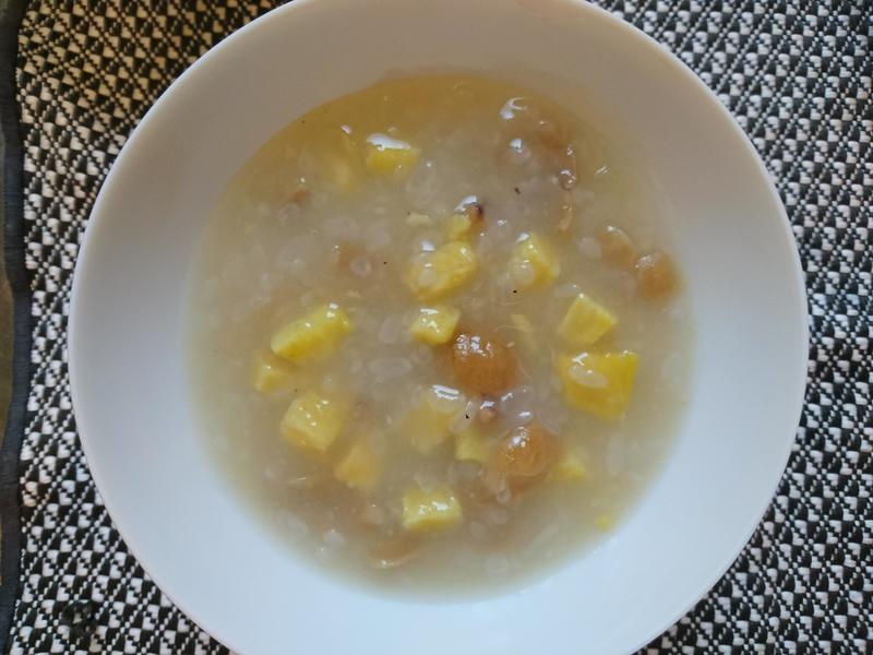 低蛋白料理-冰涼黃金三寶粥(0.42)