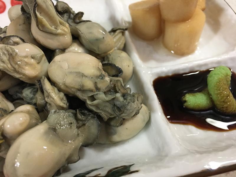 日式芥末鮮蚵