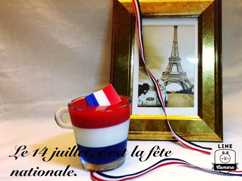 🇫🇷慶祝法國國慶 藍白紅三色慕斯