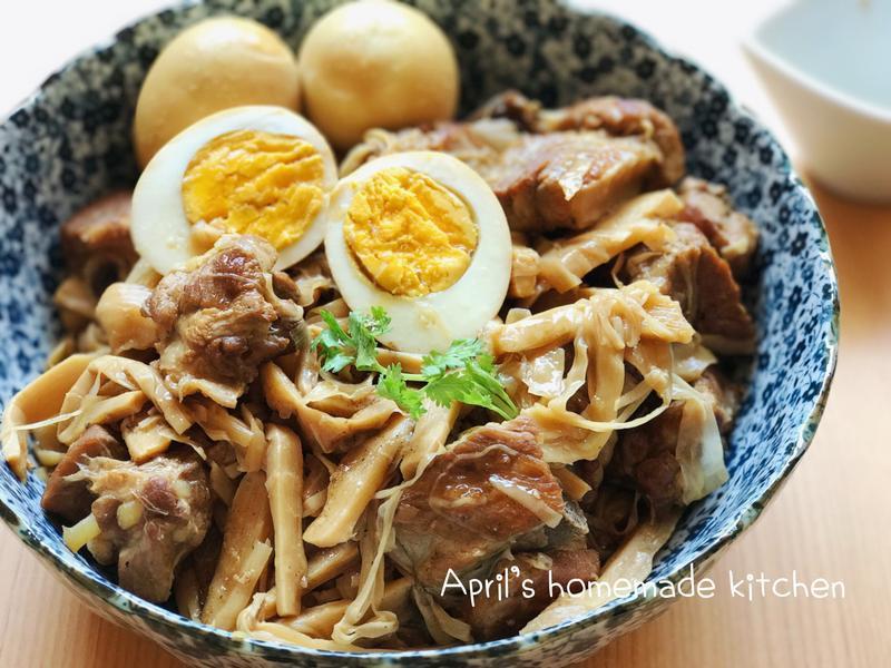 道地台灣味 筍絲滷小排