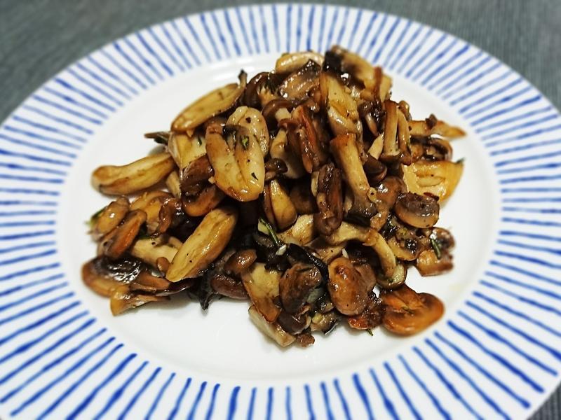 西式炒菇基礎★香蒜蘑菇★