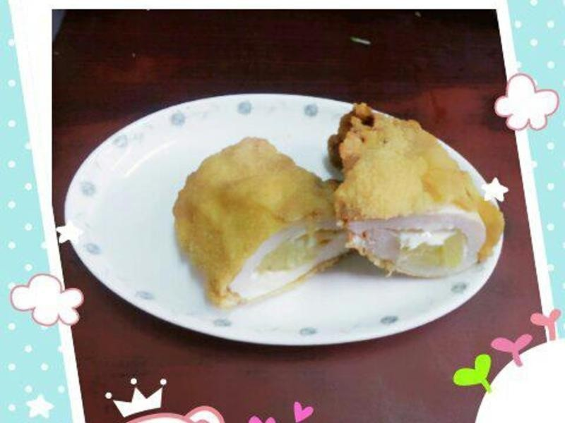 鳳梨起司雞排