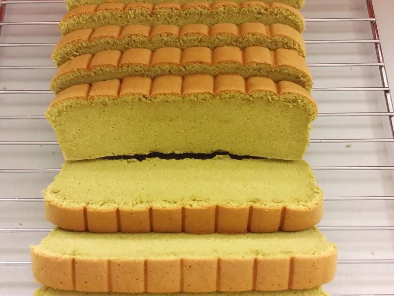 抺茶海綿蛋糕