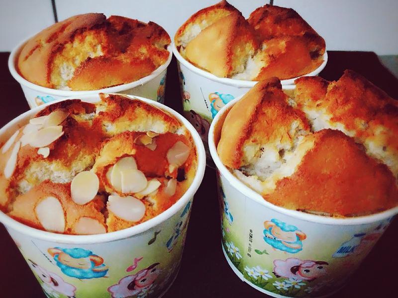 🍌香蕉牛奶天使蛋糕🍌(巧克力&原味)