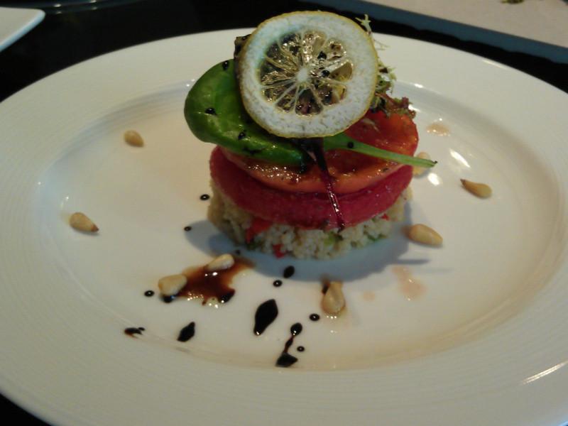 法式香料蕃茄襯北非小米