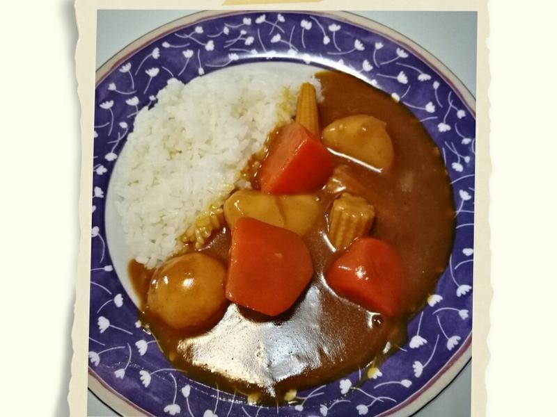 日式甜味咖哩飯