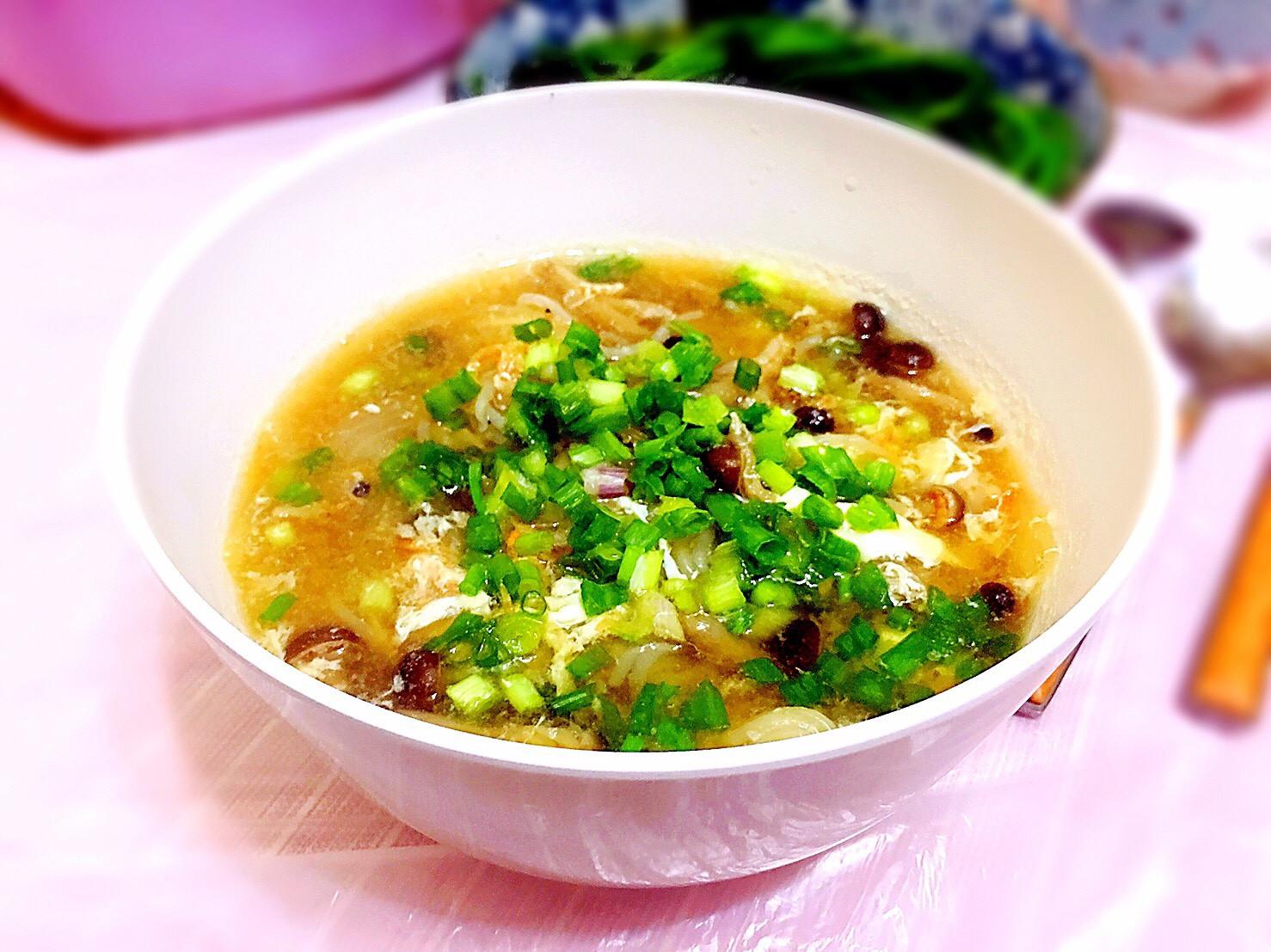 小蝦米鏗魚湯(keep fit餐單)