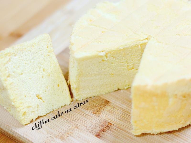 純粹檸香蛋糕cake au citron
