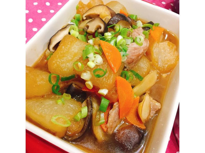 私房菜.香菇冬瓜燴肉片