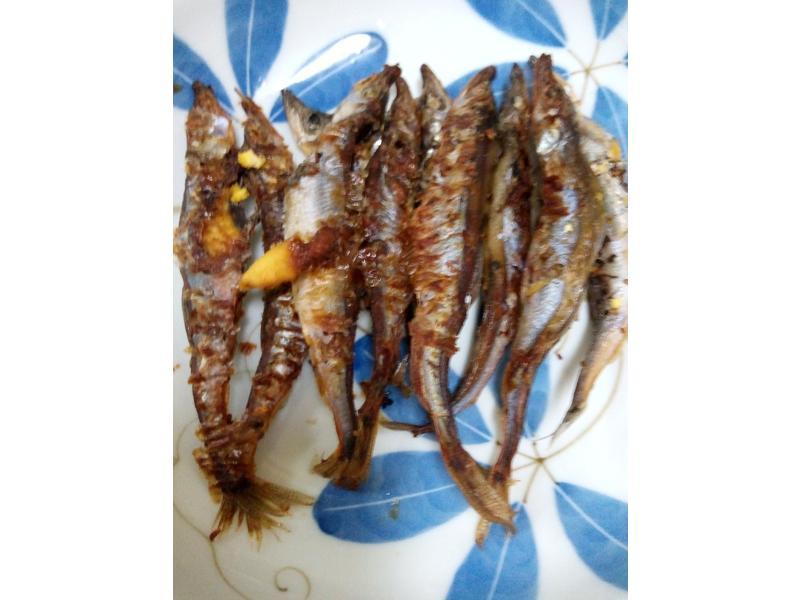 電鍋酥炸(萊姆橄欖)香草柳葉魚