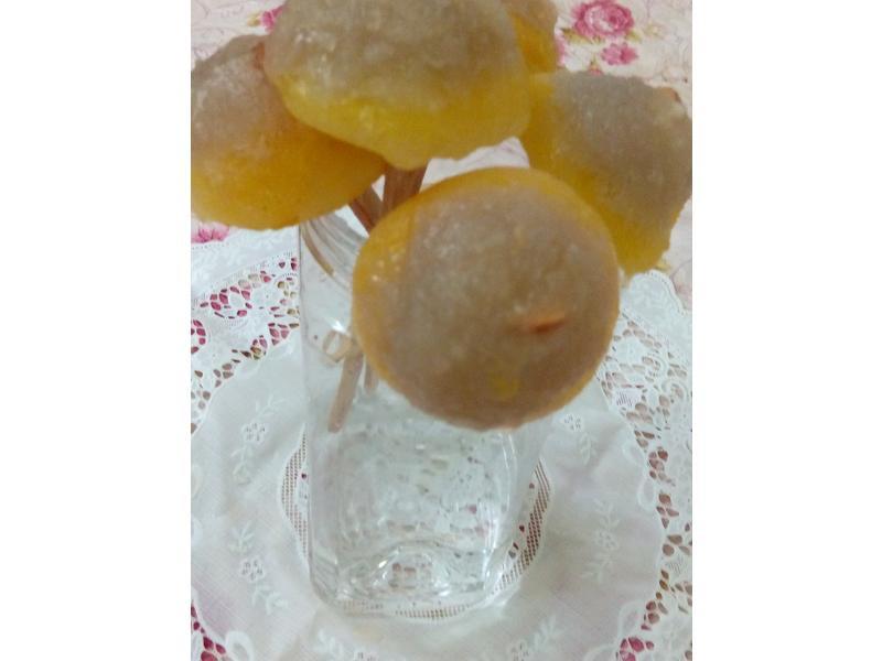 (荔枝百香果)香菇頭寒天冰棒