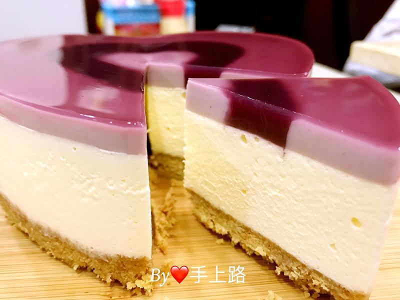 紫米優格乳酪蛋糕(6吋、免烤箱)