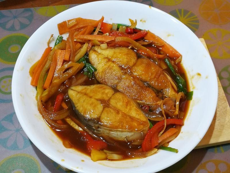 紅燒馬加鰆魚排(日向鮮漁場)