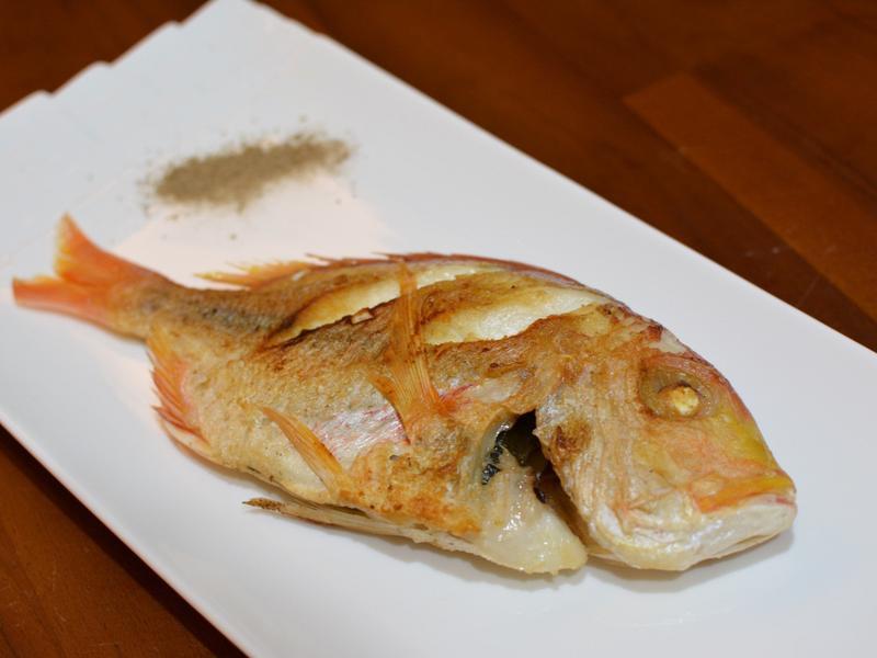 乾煎赤鯮魚(日向鮮漁場)
