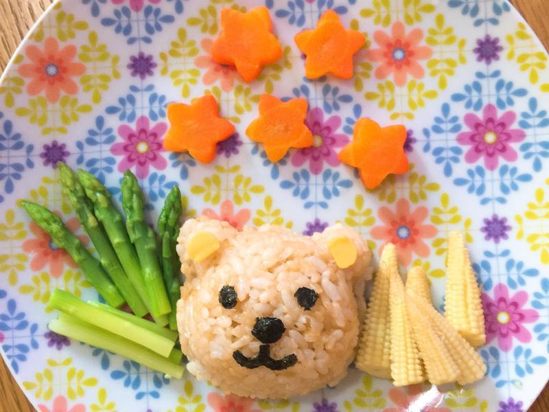 寶寶食譜。小熊特餐(2歲寶寶)