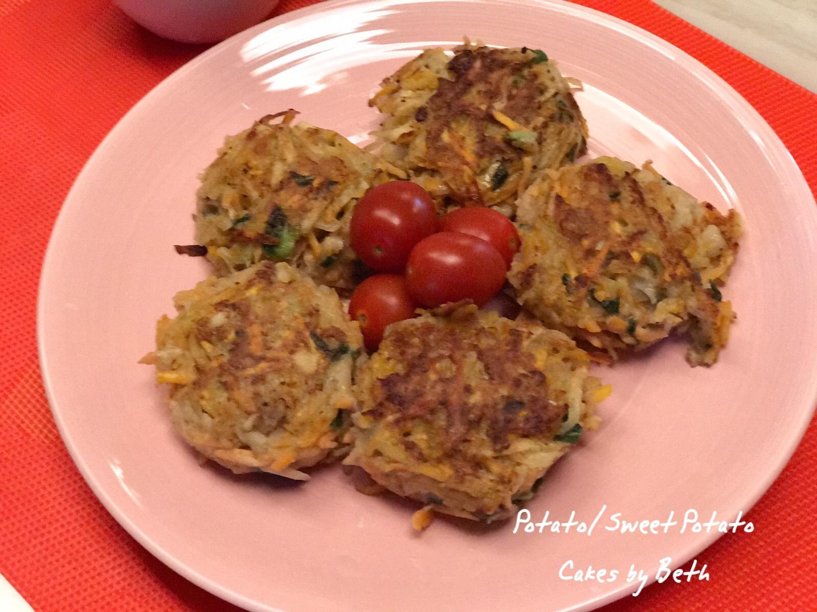 馬鈴薯地瓜煎餅 - 早餐