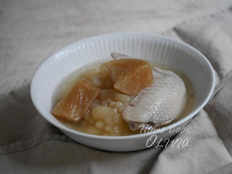 小廚娘❤鳳梨苦瓜雞湯#電鍋