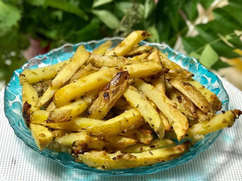烤薯條Baked chips