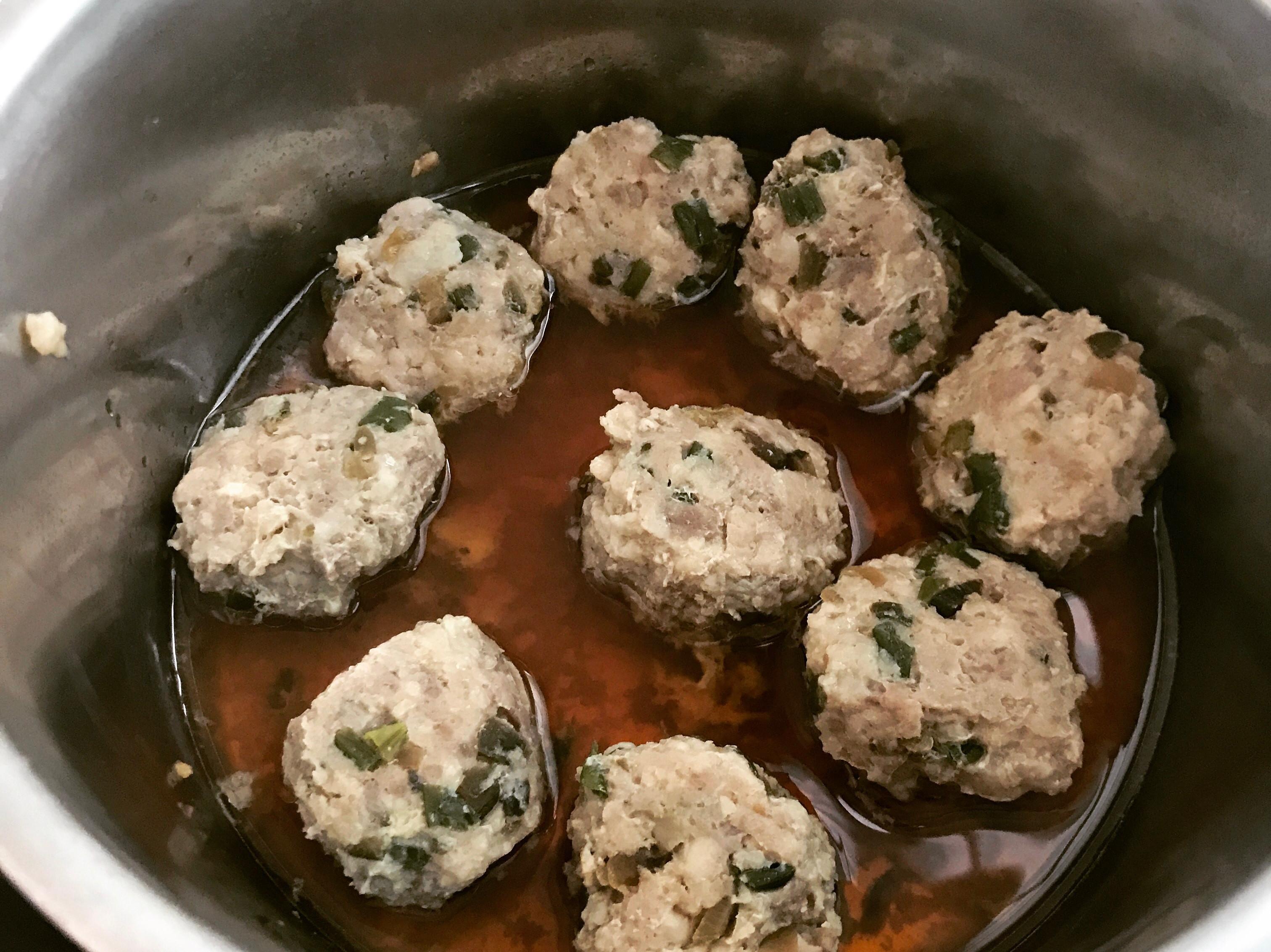 家常菜➡️瓜仔肉丸