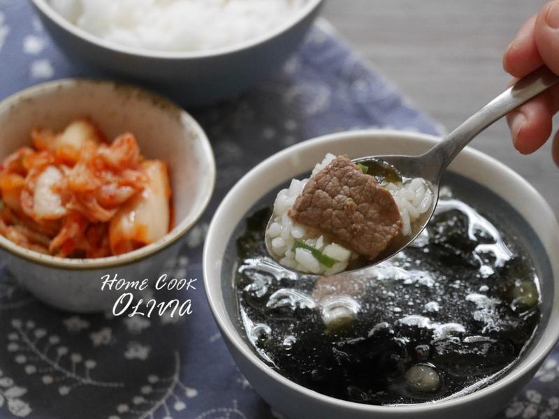 小廚娘❤韓式牛肉海帶湯#電鍋