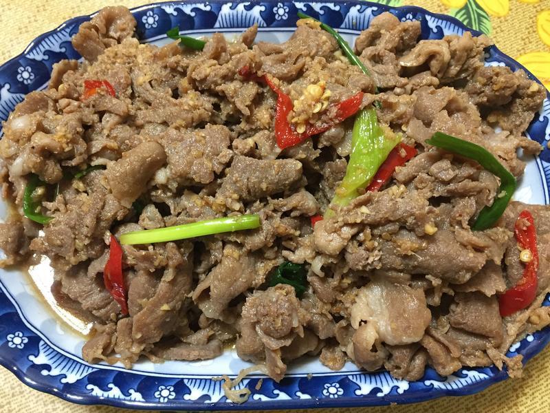 敘敘苑燒肉醬改良版燒肉
