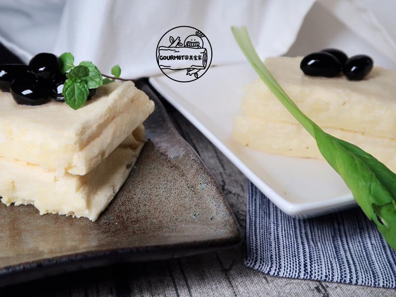 嫩豆腐蛋糕(簡易&豆香四溢)