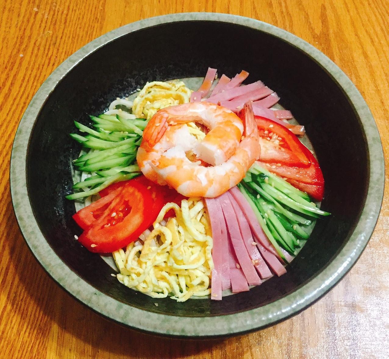 日式中華涼麵 (冷やし中華)