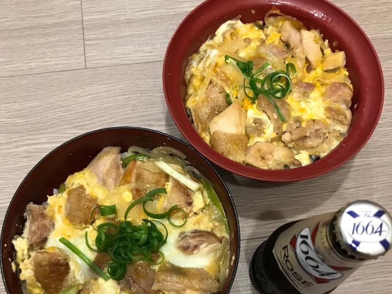 親子丼~簡單雞肉料理🐔🥚