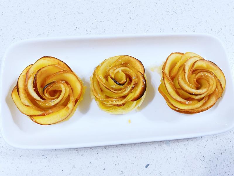 玫瑰蘋果派
